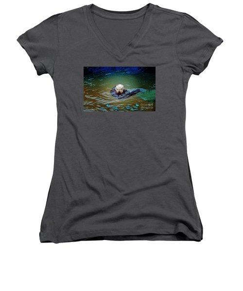 Chillin Women's V-Neck T-Shirt