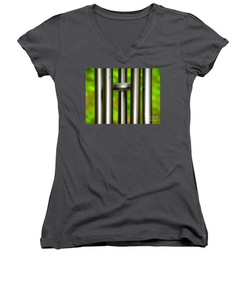 Chiming In Women's V-Neck (Athletic Fit)