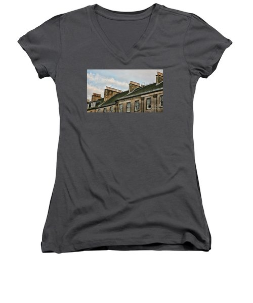 Chimney Architecture Women's V-Neck