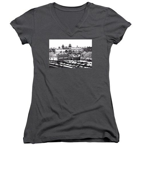 Chinatown Chicago 4 Women's V-Neck T-Shirt
