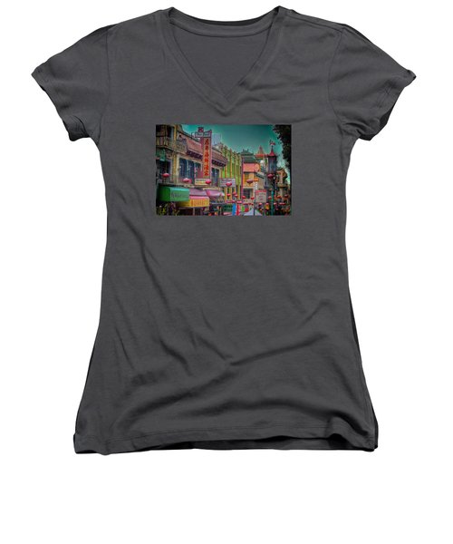 Chinatown Women's V-Neck (Athletic Fit)