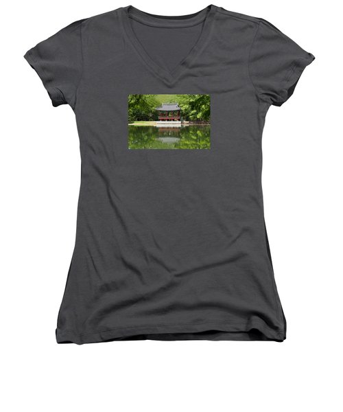 Chinese Theater Women's V-Neck