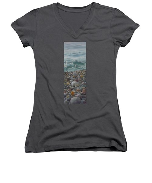Chios Pebbles Women's V-Neck