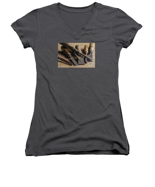 Chisels Women's V-Neck T-Shirt