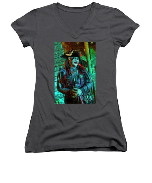 Christine Campiotti And Hunted House Women's V-Neck