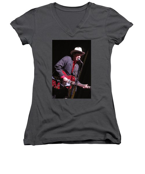 Chuck Mead Women's V-Neck