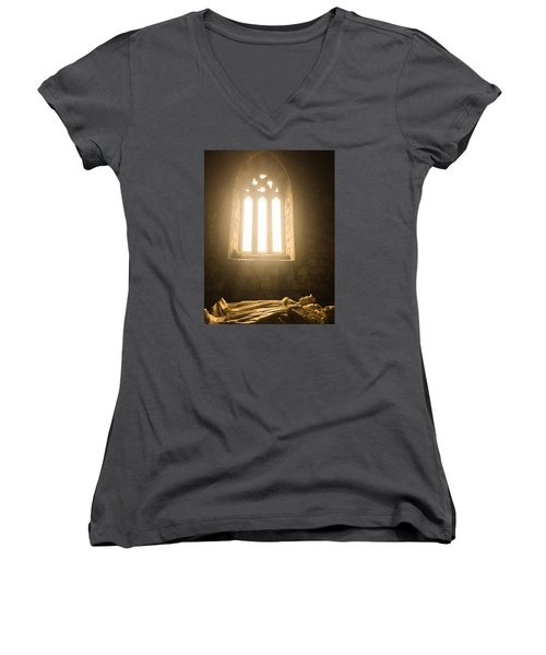 Church Women's V-Neck (Athletic Fit)