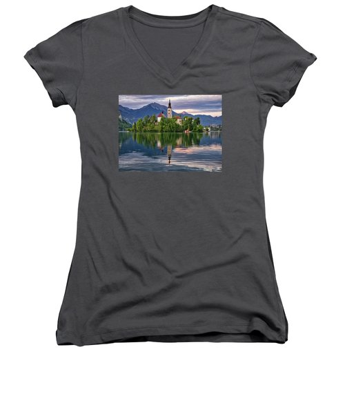 Church Of The Assumption. Women's V-Neck