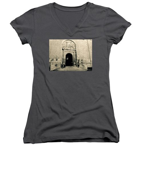 Churchdoor In Mahon Women's V-Neck T-Shirt