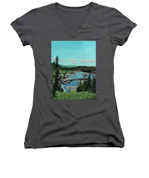Churchill River Women's V-Neck