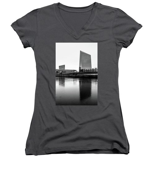 Cira Centre - Philadelphia Urban Photography Women's V-Neck