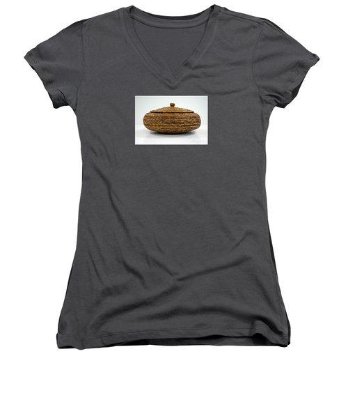 Circular Bound Women's V-Neck T-Shirt