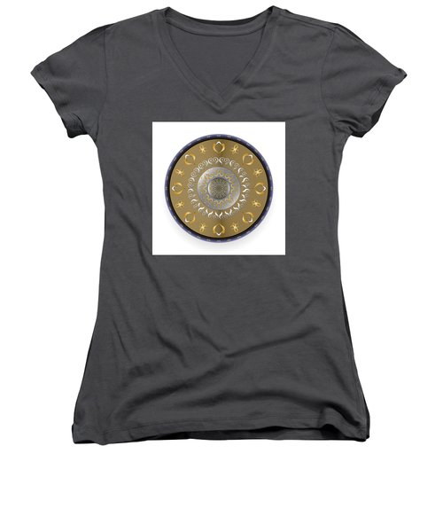 Circulosity No 2916 Women's V-Neck (Athletic Fit)