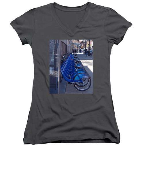 Citibike Women's V-Neck (Athletic Fit)