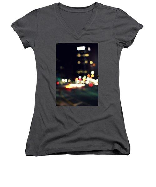 City Lights Women's V-Neck