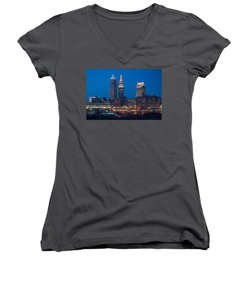 City Lights Women's V-Neck