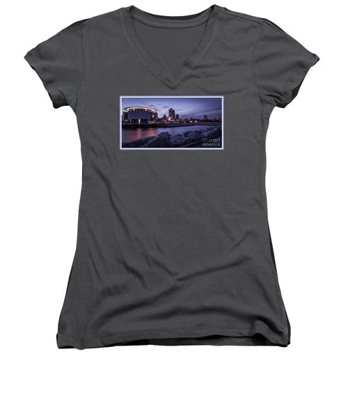 City Limits Women's V-Neck T-Shirt