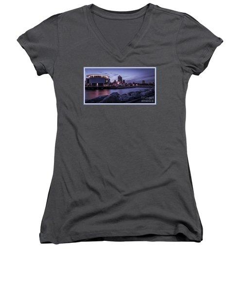 City Limits Women's V-Neck T-Shirt