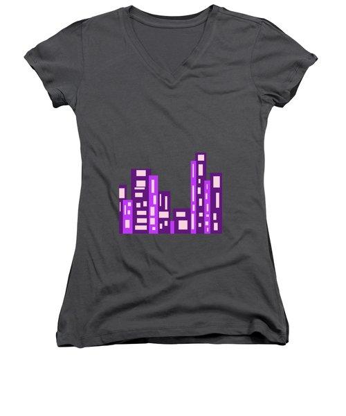 City Night Women's V-Neck