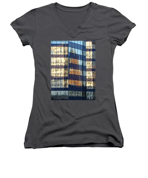 City Reflections 1 Women's V-Neck (Athletic Fit)