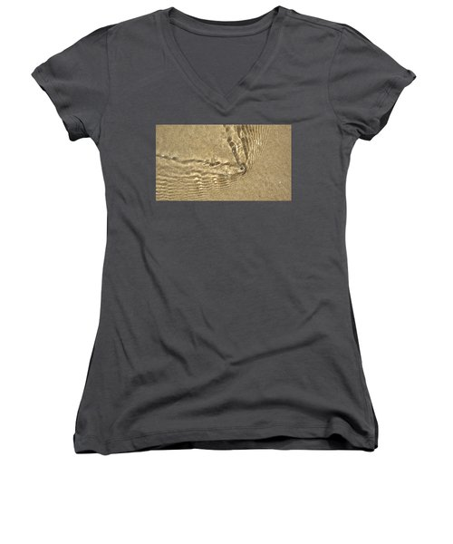 Clams And Ripples Women's V-Neck