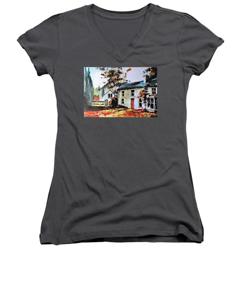 Clara Vale, Wicklow. Women's V-Neck (Athletic Fit)
