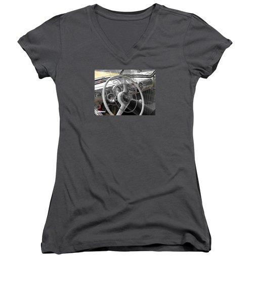Classic Women's V-Neck T-Shirt (Junior Cut) by Allen Beilschmidt