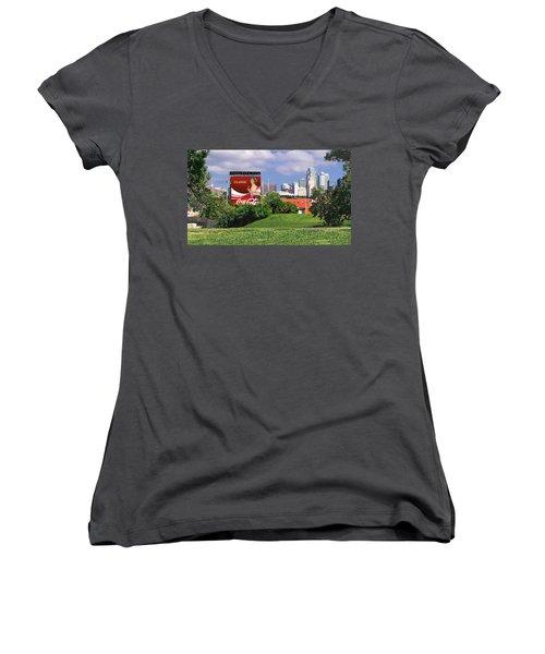 Classic Summer Women's V-Neck T-Shirt