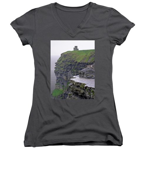 Cliffs Of Moher Ireland Women's V-Neck