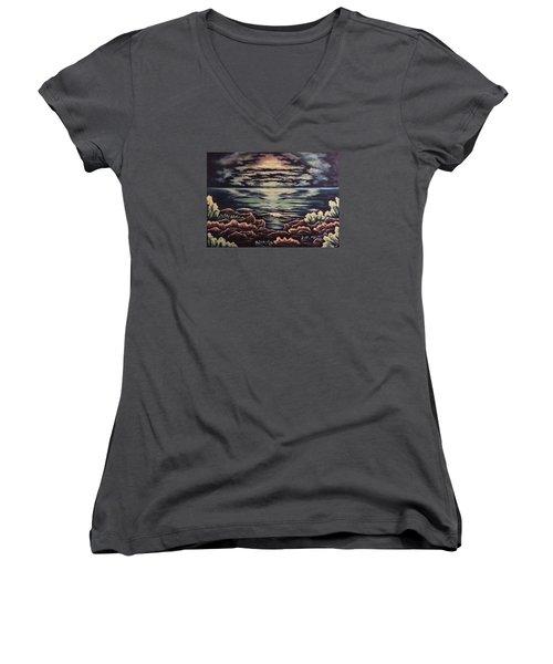 Cliffside Women's V-Neck T-Shirt