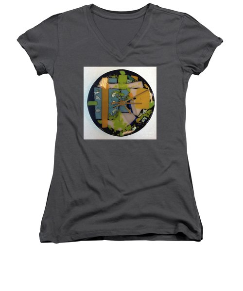 Clock Women's V-Neck (Athletic Fit)