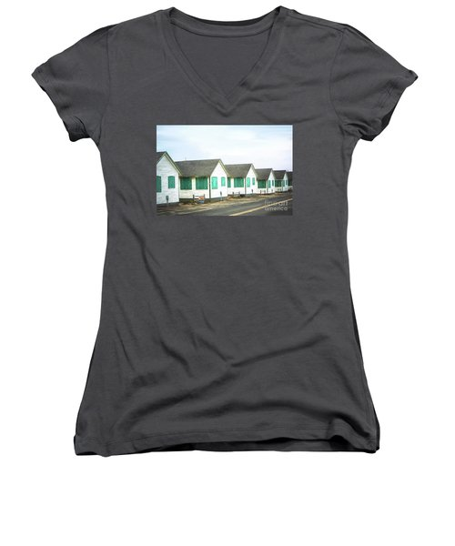 Closed For The Season #2 Women's V-Neck (Athletic Fit)