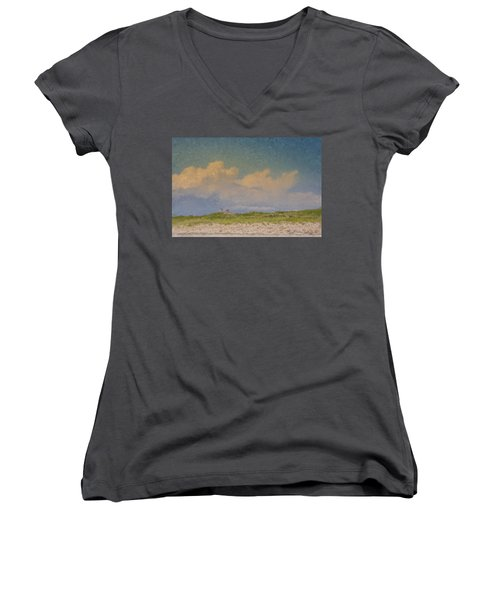 Clouds Over Goosewing Women's V-Neck
