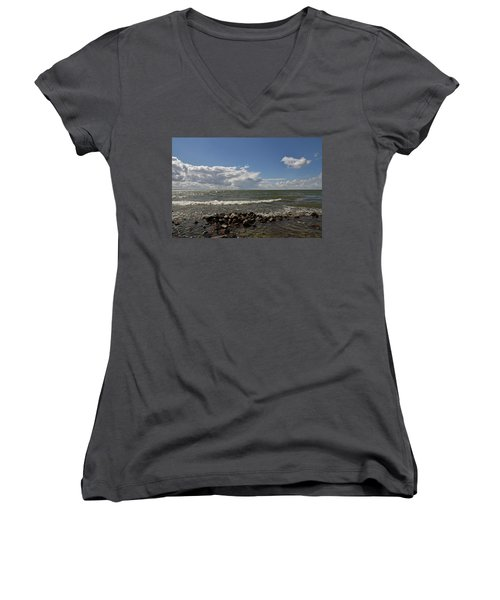 Clouds Over Sea Women's V-Neck