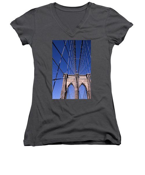 Cnrg0407 Women's V-Neck T-Shirt (Junior Cut)