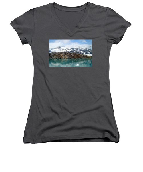 Coastal Beauty Of Alaska 5 Women's V-Neck (Athletic Fit)