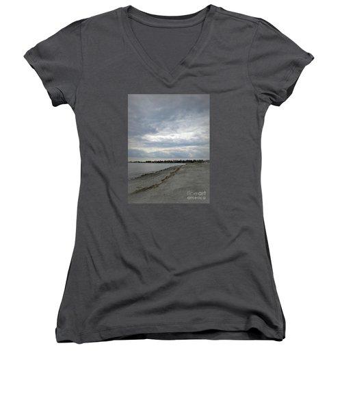 Coastal Winter Women's V-Neck T-Shirt