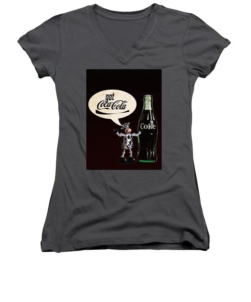 Coca-cola Forever Young 18 Women's V-Neck