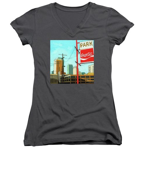 Coca Cola Park Women's V-Neck