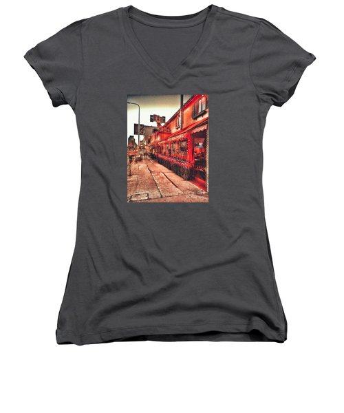 West Los Angeles Cocktail Row Women's V-Neck