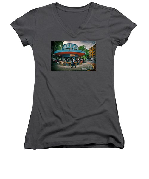 Coffee Caffeine High At 7,000 Feet Women's V-Neck