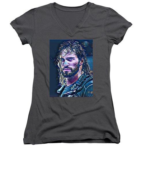 Colby Lopez Portrait Women's V-Neck T-Shirt