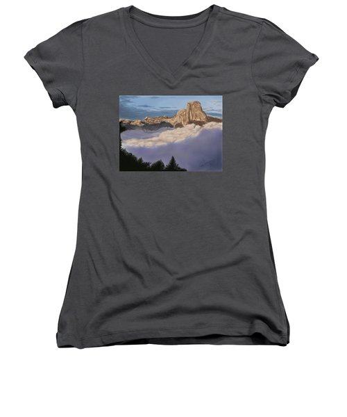 Cold Mountains Women's V-Neck (Athletic Fit)