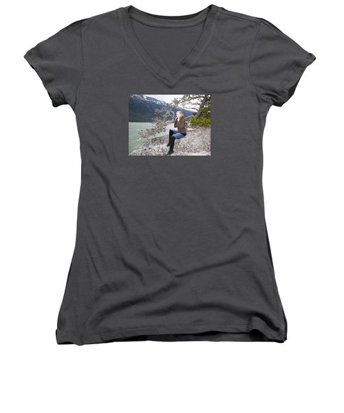 Cold Summer Women's V-Neck T-Shirt