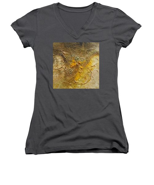 Colliding Worlds Women's V-Neck