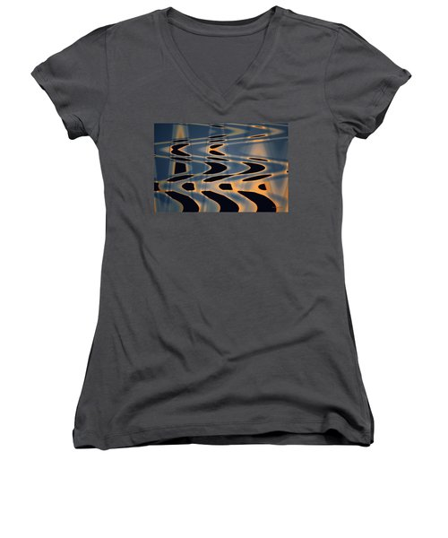 Color Abstraction Xxiv  Women's V-Neck T-Shirt