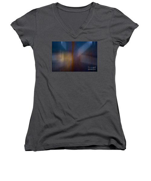 Color Abstraction Xxix Women's V-Neck T-Shirt