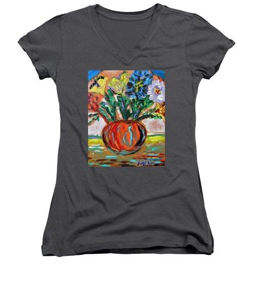 Color Everywhere Women's V-Neck T-Shirt