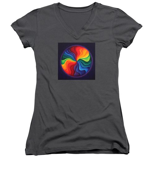 Color Joy Women's V-Neck T-Shirt