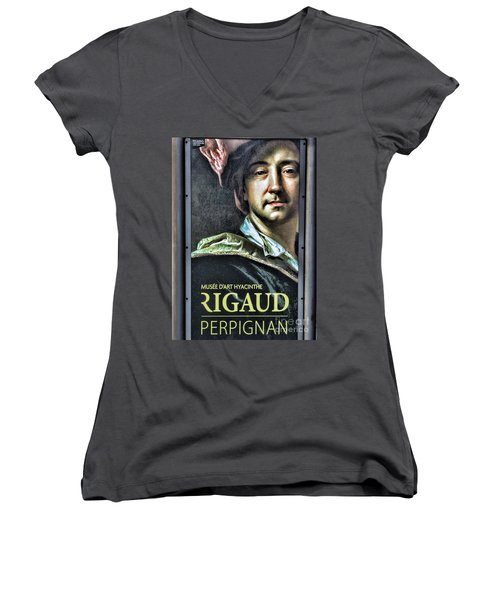 Color Rigaud Musee D' Art Perpignan France Up Close  Women's V-Neck